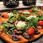 Pizza på pizzastål